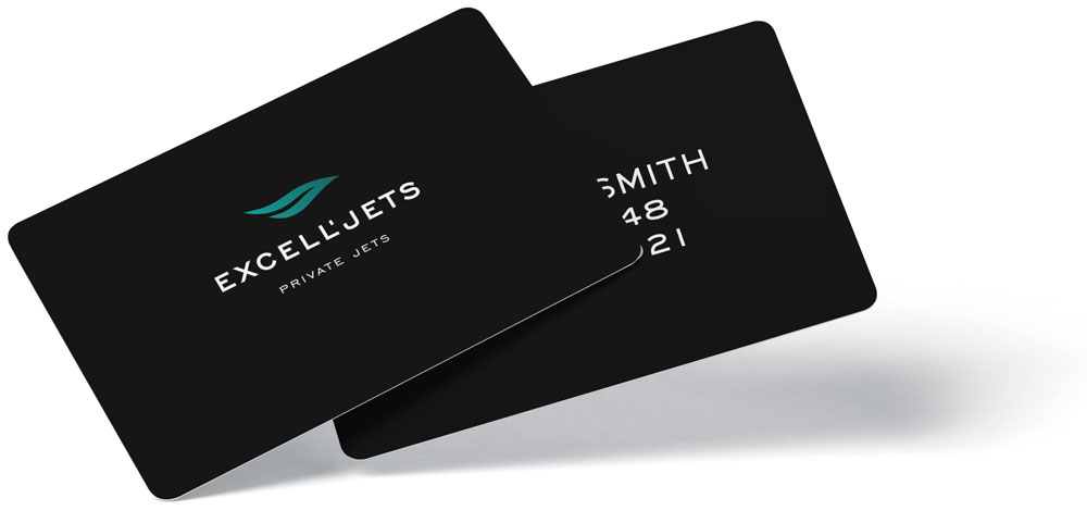 Excell'Jets Traveling Card